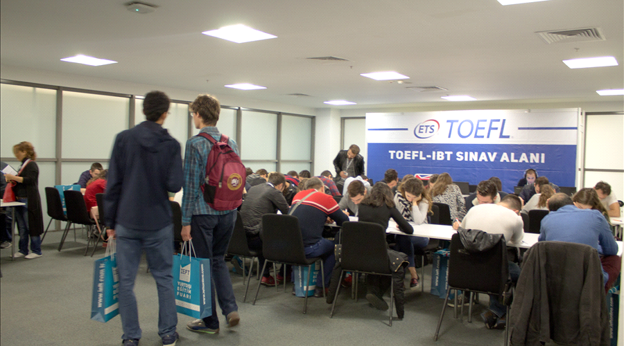 Toefl IBT Test Salonu